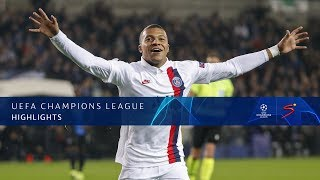 UEFA Champions League | Club Brugge KV v Paris Saint-Germain F.C. | Highlights