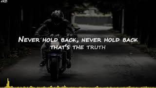 NEFFEX - Never Hold Back [Lyrics]