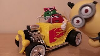 Candy M&Ms Sweets Hot Rod Car Rebel Without A Clue Dispenser