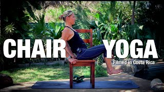 Chair Yoga for the Spine & Core - Five Parks Yoga