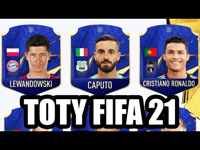 ECCO I TOTY UFFICIALI DI FIFA 21!! C'E' CICCIO CAPUTO!!! chi ho votato??