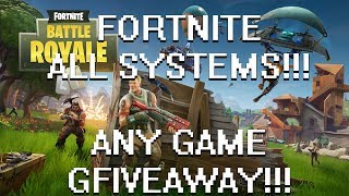 SURPRISE LATE NIGHT FORTNITE STREAM!!!: MULTIPLE GIVEAWAYS!!!