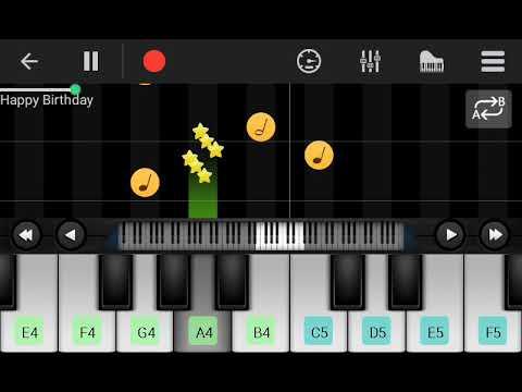Tone Piano Happy Birthday