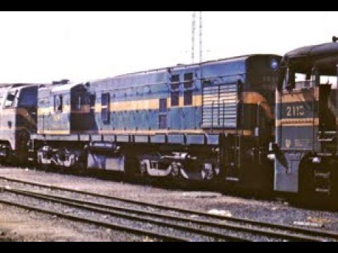 Las Locomotoras ALCO en RENFE. Documental.