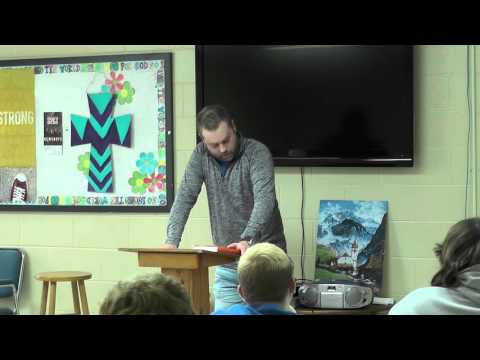Gene Dougherty's Testimony to FBC Youth on 7-17-16 Part One