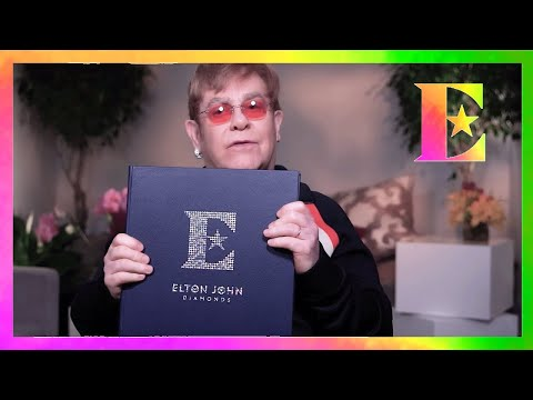 Elton John - The Diamond Club Fan Book