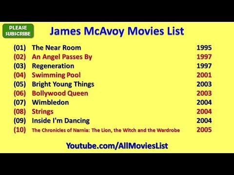 James McAvoy Movies List - YouTube