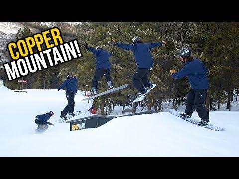 SNOWBOARDING COPPER MOUNTAIN!