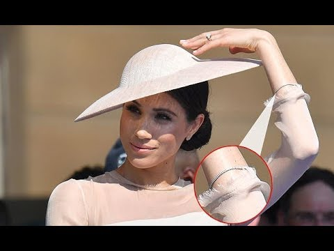 Meghan Markle wore diamond tennis bracelet to Prince Charles' 70th birthday
