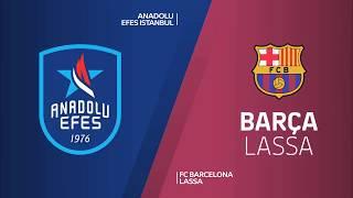 #EuroLeague #Playoff 1. Maç: Anadolu Efes - Barcelona Lassa