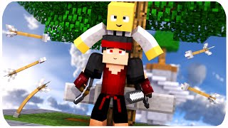 Minecraft: A PARTIDA COM MAIS MORTES!! - Sky Wars (ft. Jabuti)