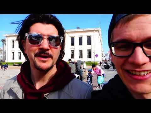 DAY OFF IN OSLO - NORWAY (Antoine on Tour Ep.10)
