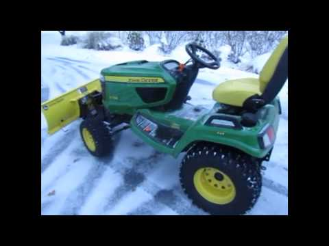 hqdefault plowing snow with a john deere x738 wow! youtube john deere x748 wiring diagram at gsmportal.co