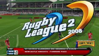 Rugby League 2 - PC Knights v Dragons