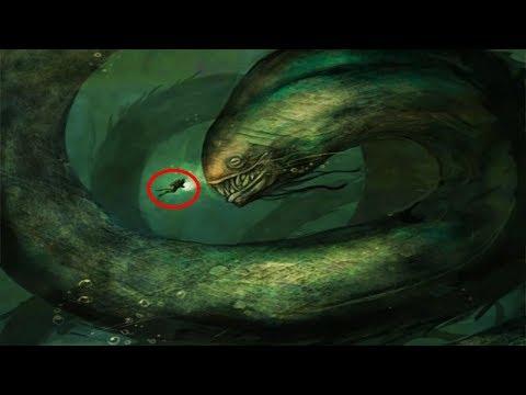 Los 5 Monstruos Marinos Más Grandes y Poderosos del Océano!!!