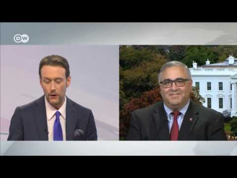 Aram Hamparian Talks With DW's Brent Goff Regarding Armenian Genocide Resolution (H.Res.296)