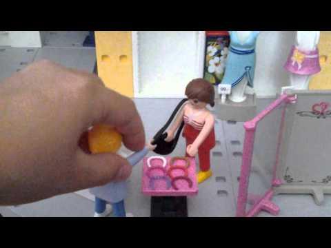 Le centre commercial : playmobil partie 1