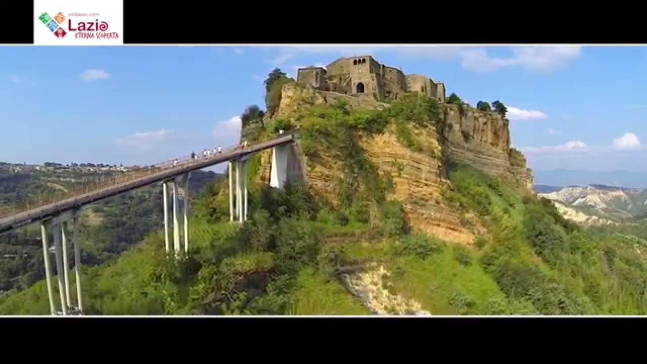 Visitlazio.com - Civita di Bagnoregio - YouTube