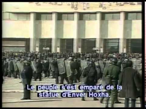 Albanie la fin du communisme