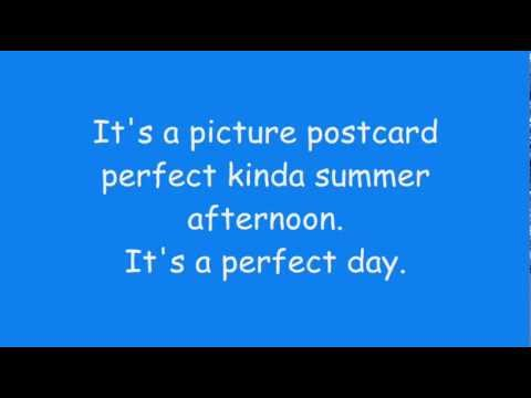 Phineas And Ferb - Perfect Day Lyrics (extended + HD + HQ)