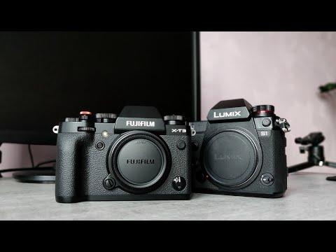 Panasonic S1 vs.  Fujifilm X-T3