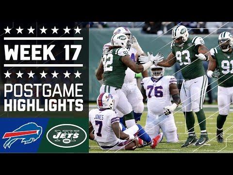 Bills vs. Jets   NFL Week 17 Game Highlights