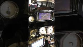 Hard candy Road Glide crazy stereo and pioneer head unit install.