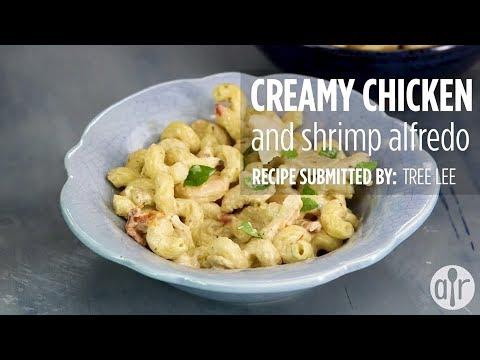 How to Make Creamy Chicken & Shrimp Alfredo | Dinner Recipes | Allrecipes.com