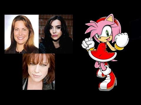 Comparing The Voices - Amy Rose