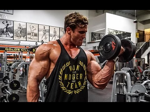 ARM DAY is the BEST day | two weeks out | Calum Von Moger