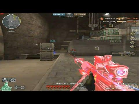 [ Bình Luận CF ] 3Z Iron Shark phiên bản Red Crystal - Tiền Zombie v4
