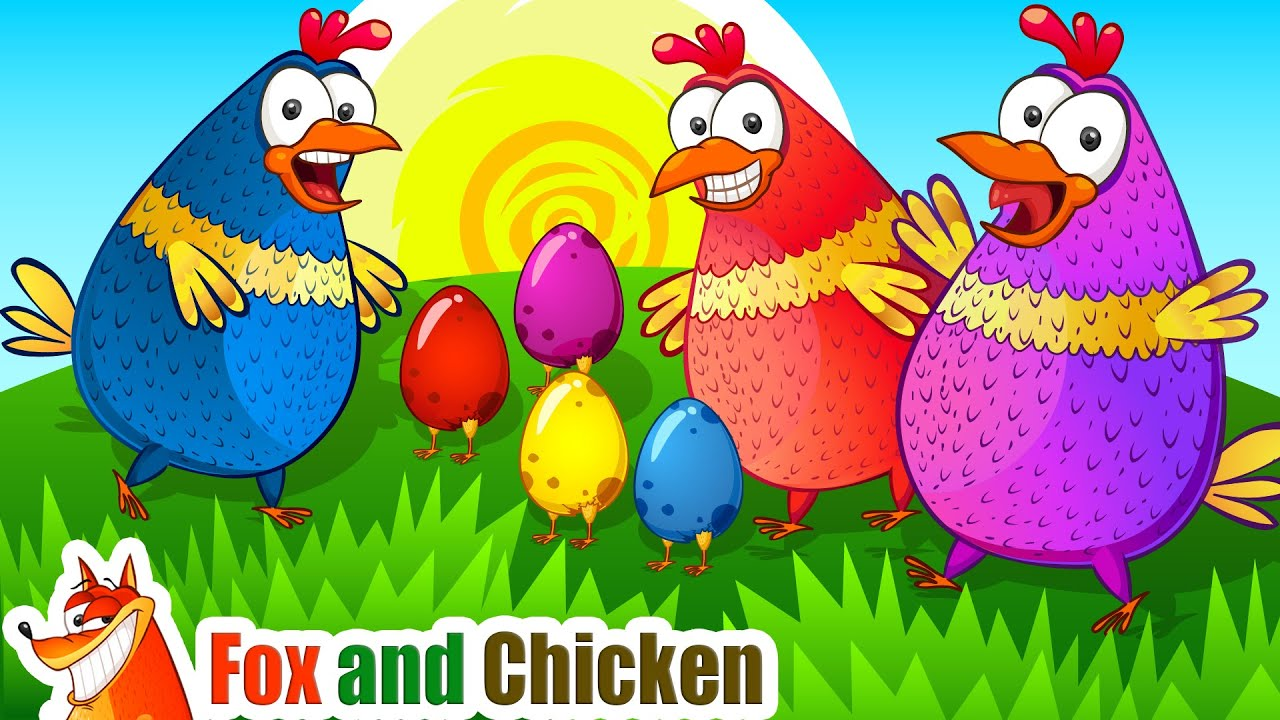 Head-Shoulders | Sing-Along Nursery Rhymes Songs for Kids by Fox and Chicken