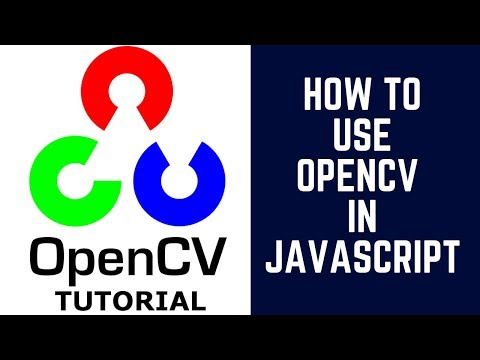 How To Use Opencv In Javascript Without Compiling?