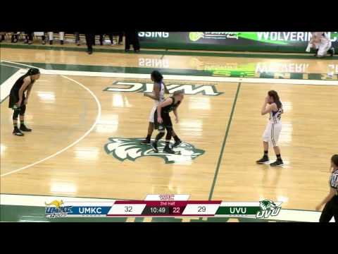 NCAA Basketball: Missouri-Kansas City at Utah Valley University