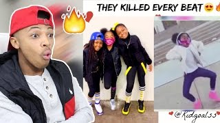 Kids Are Lit Dance Compilation 5 Reaction