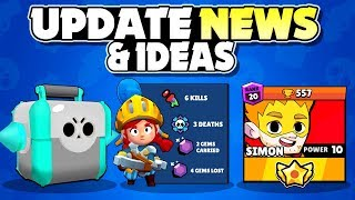 UPDATE NEWS! - NEW Brawler? - Brawl Talk Ready For Release? + Update Concepts Needed In Brawl Stars