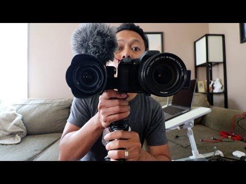 Canon 80D vs Sony a6500 BEST Vlogging Camera?