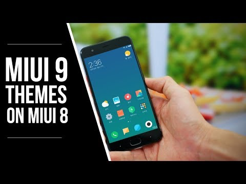 How to get MiUI 9 Themes (Official) on MiUI 8 Device (No ROOT)