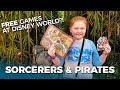 FREE Games at Disney World | Sorcerers of the Magic Kingdom and Treasures of the Seven Seas