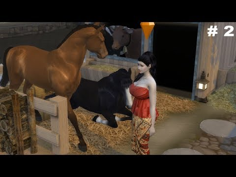 The Sims 4 | Farm | Eps 2 | beternak ayam , Sapi dan kuda | the sims 4 Indonesia