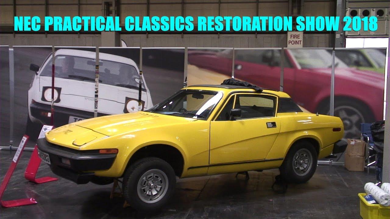 Triumph TR7 NEC Restoration Show 2018 - YouTube