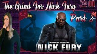 💜Candy Land Stream #110💜 Nick Fury Grind pt. 2    MCOC #LIVE