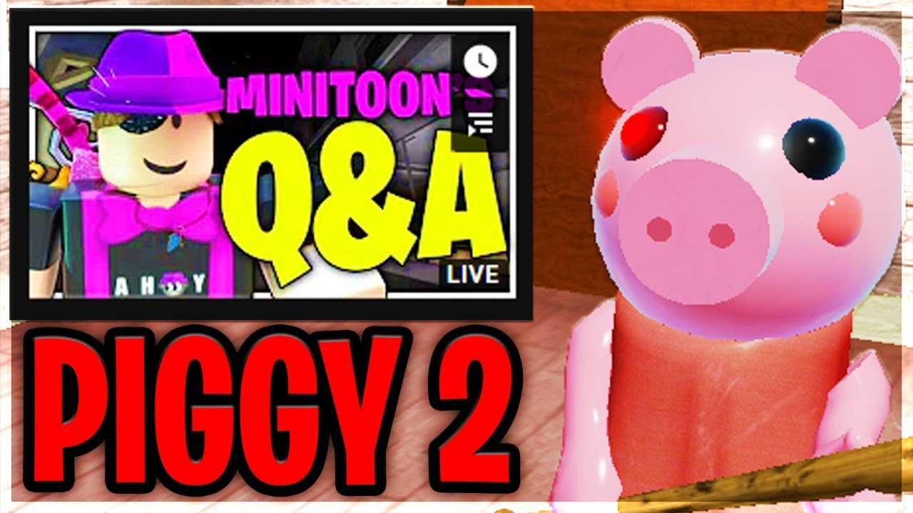 Piggy 2 First Details Revealed Minitoon Live Q A Youtube