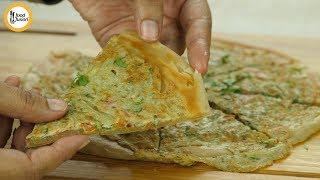 Special Lachay dar Anda Paratha  Recipe By Food fusion