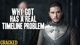 Why Game of Thrones Has A Real Timeline Problem: Episode 3 - The  Queen's Justice (GOT Recap)