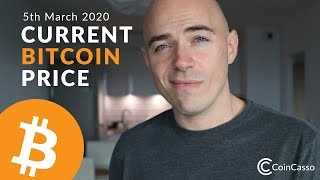 Current Bitcoin Price - March 5th 2020 (Bitcoin, Ethereum, Dash, Litecoin)