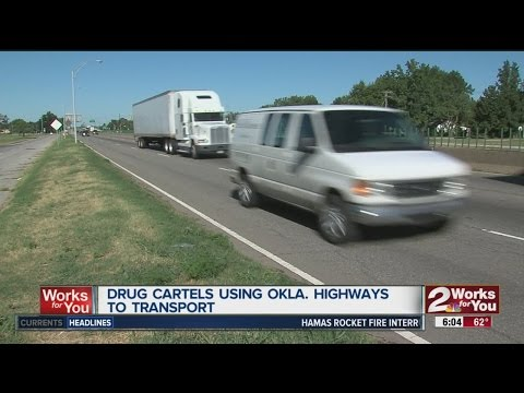 Oklahoma Bureau of Narcotics says Mexican cartels using Oklahoma highways to transport drugs