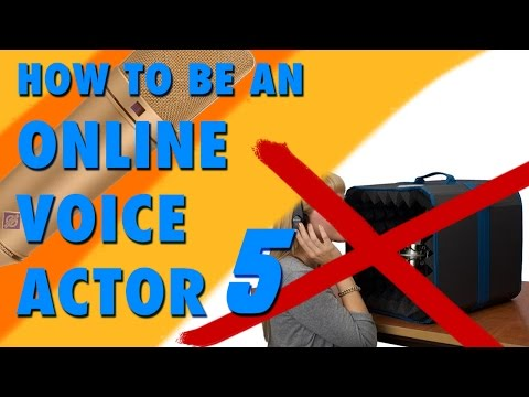 How To Be An Online Voice Actor Part 5 | Recording Clear