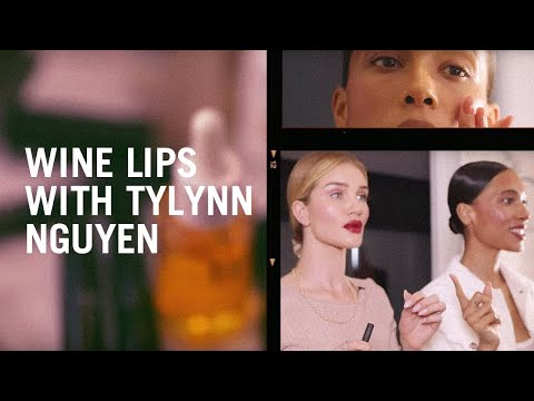 TyLynn Nguyen And Rosie Huntington-Whiteley Re-create A Violette Makeup Tutorial