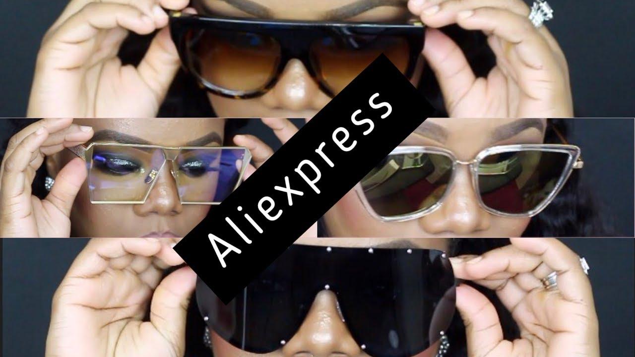 a5bb79e529d3d ALIEXPRESS SUNGLASS HAUL - YouTube